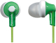 Наушники Panasonic RP-HJE118GUG (зеленый) -
