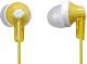 Наушники Panasonic RP-HJE118GUY  (желтый) -
