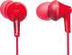 Наушники Panasonic RP-HJE125E-R (красный) -