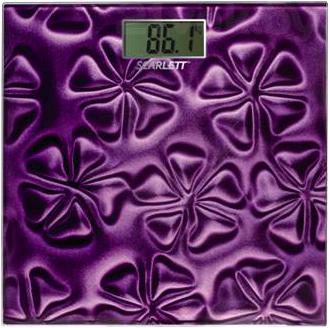 Напольные весы электронные Scarlett SC-218 (Purple) - общий вид