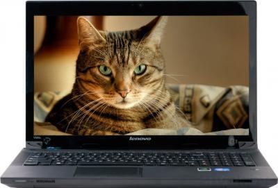 Ноутбук Lenovo IdeaPad V580CA (59381130) - фронтальный вид