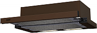 Вытяжка телескопическая Krona Kamilla 600 1m / 00020610 (коричневый) -