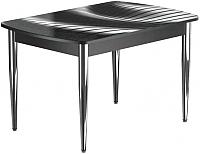 Обеденный стол Васанти Плюс БРФ 100/132x60/1Р/ОЧ (хром/56) -