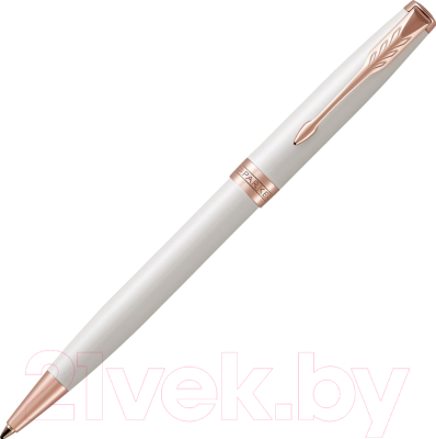 Ручка шариковая Parker Sonnet Pearl White Lacquer PGT 1931555