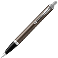 Ручка шариковая Parker IM Metal Core Dark Espresso CT 1931671 -