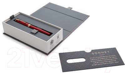 Ручка-роллер Parker Sonnet Lacquer Intense Red GT 1948085
