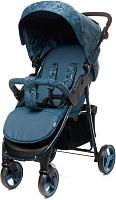 Детская прогулочная коляска 4Baby Rapid Unique (Navy) -