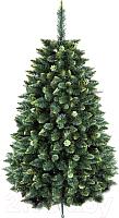 Сосна искусственная GreenTerra Хрустальная зеленая (1м) -