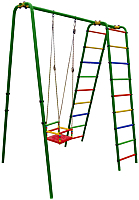 Игровой комплекс Формула здоровья Бемби-М Плюс (зеленый/радуга) -