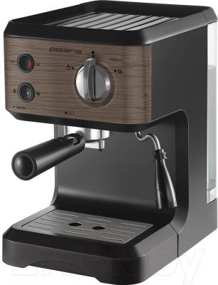 Кофеварка эспрессо polaris pcm 1524e wood