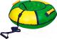 Тюбинг-ватрушка Ника ТБ1К-70 700мм (зеленый/желтый) -