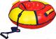 Тюбинг-ватрушка Ника ТБ1К-70 700мм (красный/желтый) -