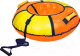 Тюбинг-ватрушка Ника ТБ1К-70 700мм (оранжевый/желтый) -