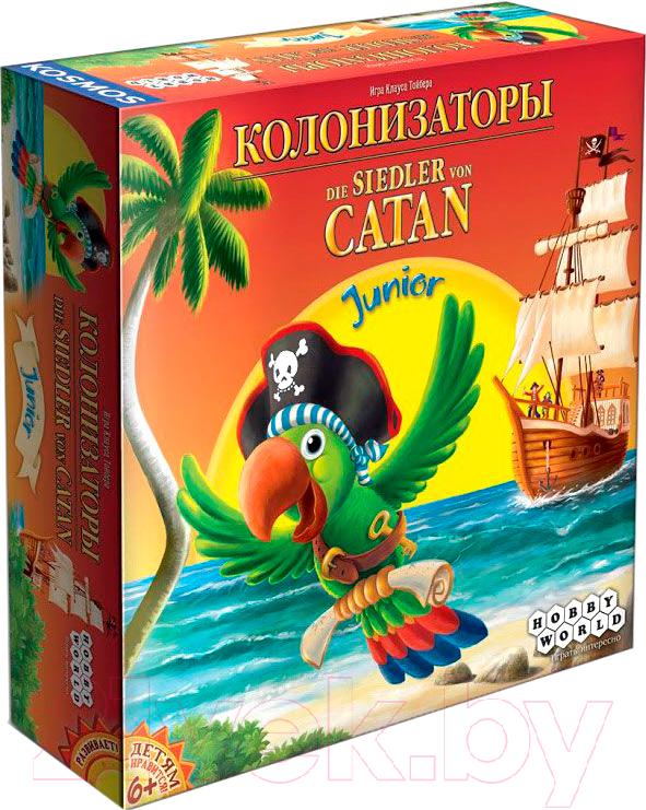 Купить Настольная игра Мир Хобби, Колонизаторы Junior, Россия