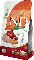 Корм для кошек Farmina N&D Grain Free Pumpkin Quail & Pomegranate Adult Neutered (0.3кг) -