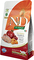 Корм для кошек Farmina N&D Grain Free Pumpkin Quail & Pomegranate Adult Neutered (1.5кг) -