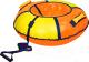 Тюбинг-ватрушка Ника ТБ1К-95 950мм (оранжевый/желтый) -