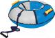 Тюбинг-ватрушка Ника ТБ1К-95 950мм (голубой/серый) -