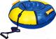 Тюбинг-ватрушка Ника ТБ1К-95 950мм (синий/желтый) -