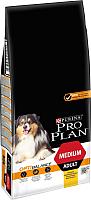 Корм для собак Pro Plan Adult Medium с курицей и рисом (14кг) -