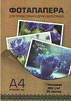 Фотобумага White Paper 200 г/м2 А4 50л (глянцевая) -