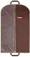Чехол для одежды Hausmann HM-701002CB (коричневый) -