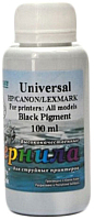 Контейнер с чернилами White Ink Universal HP/Canon/Lexmark Черный пигмент (100мл) -