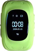Умные часы детские Smart Baby Watch Q50 (зеленый) -