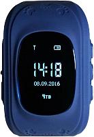Умные часы детские Smart Baby Watch Q50 (темно-синий) -