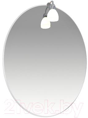 Купить Зеркало для ванной Triton, Лира 65 с подсветкой (007.42.0650.001.02.01.U), Россия