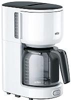 Капельная кофеварка Braun KF3120WH -