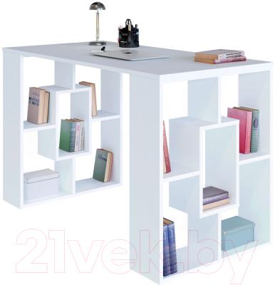 Письменный стол Сокол-Мебель СПМ-15 (белый)