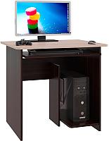 Компьютерный стол Сокол-Мебель КСТ-21.1 (венге/беленый дуб) -
