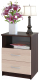 Прикроватная тумба Сокол-Мебель КТ-09.1 (венге/беленый дуб) -