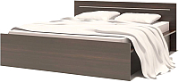 Каркас кровати Сокол-Мебель К-1 160x200 (венге) -