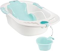 Ванночка детская Happy Baby Комфорт 34005 (аквамарин) -