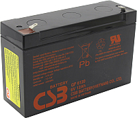 Батарея для ИБП CSB GP 6120 6V/12Ah -