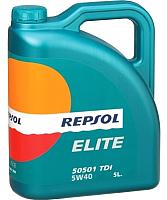 Моторное масло Repsol Elite 50501 TDI 5W40 / RP135X55 (5л) -