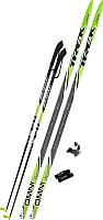 Комплект беговых лыж TREK Step 0075 (180/140) -