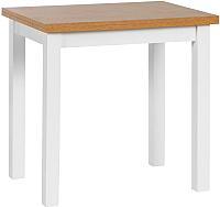 Обеденный стол Atreve Flip-Flop 60x80 (дуб/белый) -