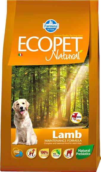 Купить Корм для собак Farmina, Ecopet Natural Lamb Mini (12кг), Италия