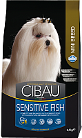 Корм для собак Farmina Cibau Sensitive Fish Mini (2.5кг) -