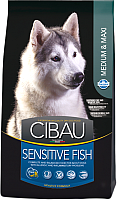 Корм для собак Farmina Cibau Sensitive Fish Medium & Maxi (12кг) -