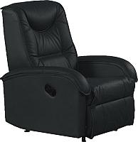 Кресло-реклайнер Halmar Jeff (черный) -