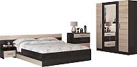 Комплект мебели для спальни Нарус Уют (кантерберри/сонома) -