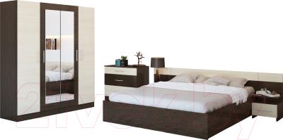 нарус уют венгедуб комплект мебели для спальни купить в минске