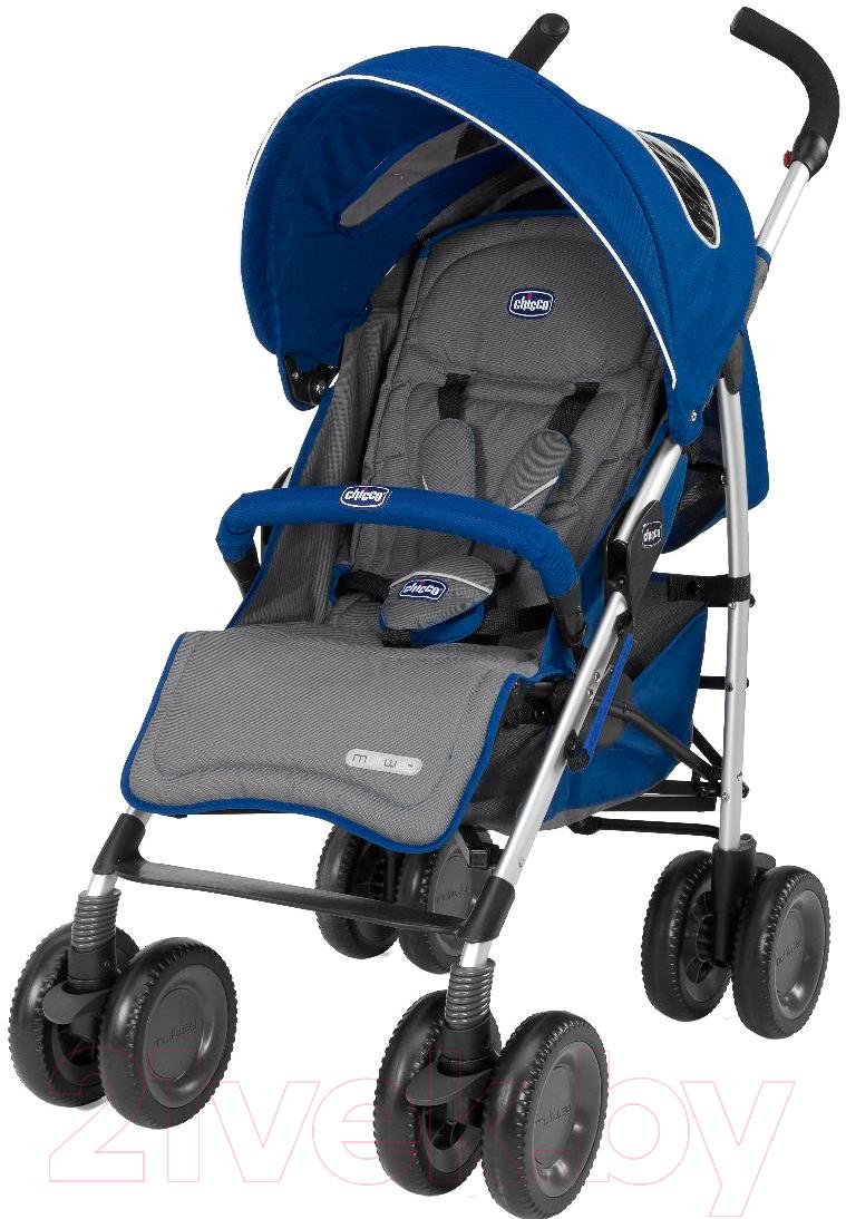 Купить Детская прогулочная коляска Chicco, Multiway Evo (синий), Китай