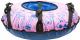 Тюбинг-ватрушка Тяни-Толкай 730мм Город (розовый) -