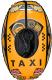 Тюбинг-ватрушка Тяни-Толкай Машинка (желтый) -