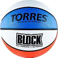 Баскетбольный мяч Torres Block В00077 (размер 7) -